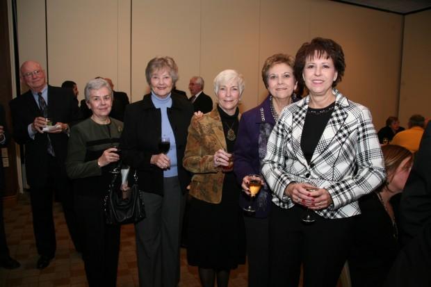Marie Trost, Margaret Trost, Carol Hucker, Maria Hucker, Trina Foristal