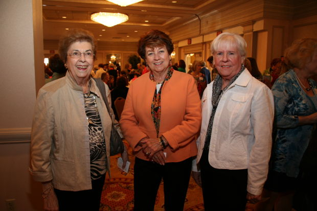 Claire Kundson, Kathleen Woodworth, Marilyn Cain
