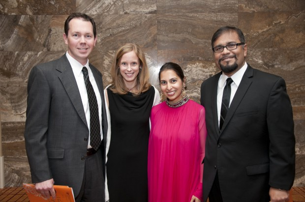 Dr. Dan and Jennie Young, Farheen and Dr. Furqan Raja
