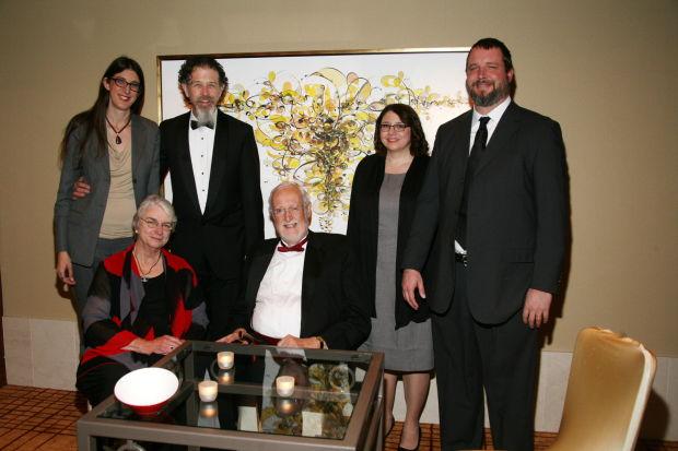 Margo and Walter Parks, K. Wentzien, Paul Wentzien, Kristine Wentzien, P.J. Wentzien