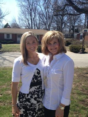 Cindy Roth and her daughter, Erin Roth, of St. Charles