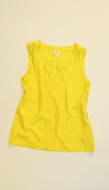 Look 2 blouse, $178, Kate Spade