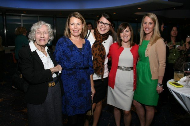Joan O'Reilly, Sue Baron, Theresa Klein, Lara Pennington, Katie Mantovani