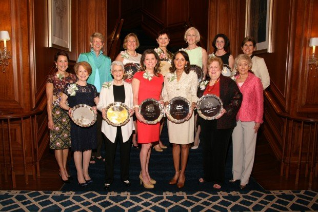 2013 Honorees and Karen Goodman, Joan Newman, Susan Sherman