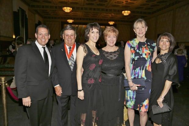 John, Ed, Carol and Margie Imo, Barb Nikolychik, Kelly Imo