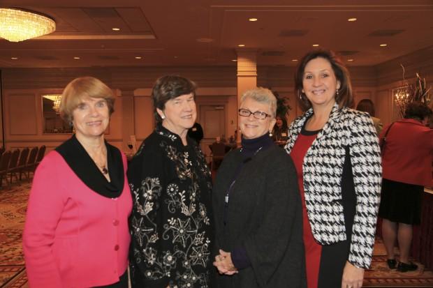 Patricia Barrett, Carol Valenta, Cheryl Oliver, Linda Haley