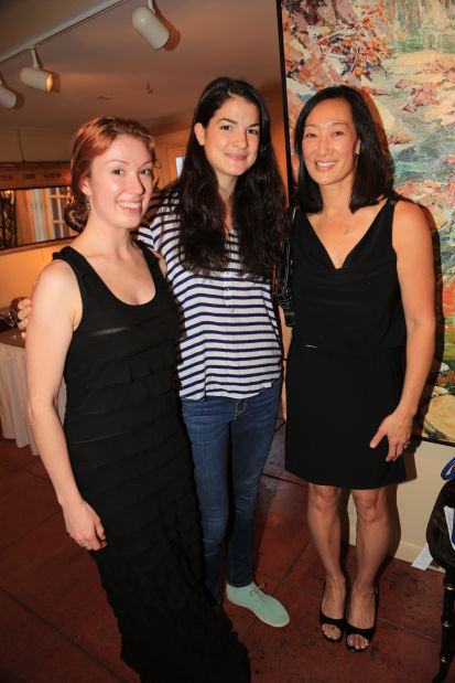 Kate Rouzer, Emery LeCrone, Julie Tang
