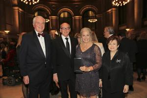 John Paul Montupet, Ward and Carol Klein, Maxine Clark