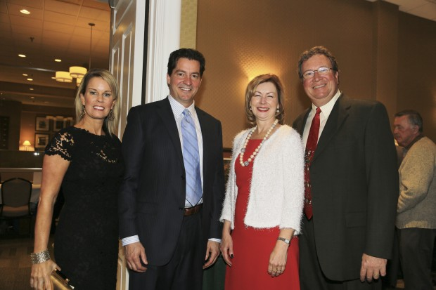 Mary Beth and Jim Monafo, Judge Colleen Dolan, Judge Glenn Norton