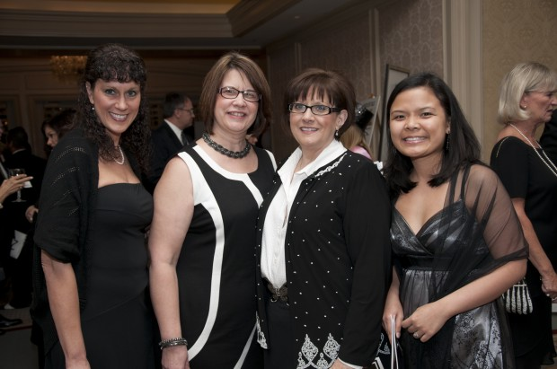 Christine Masterson, Patti Hummert, Cheryl Schwegel, Adeline Williams