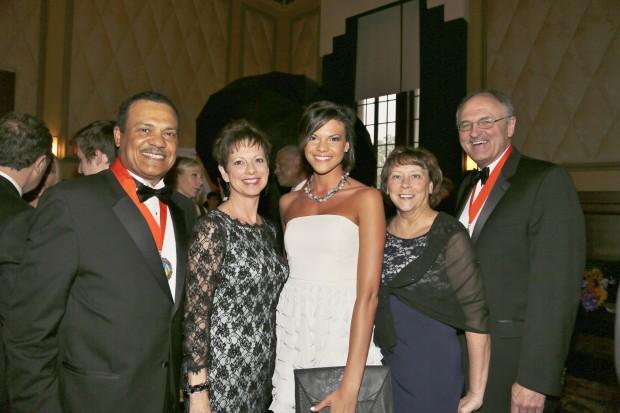 Richard, Melissa and Megan Mark, Dan and Rhonda Cole