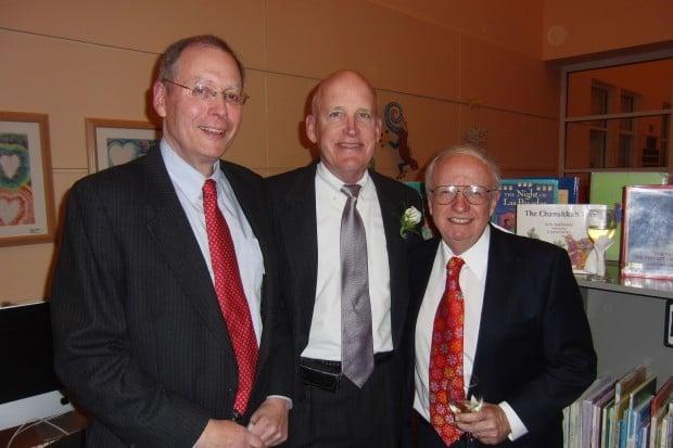 Jeff Dieffenbach, Dr. Jay Marshall, Cliff Saxton
