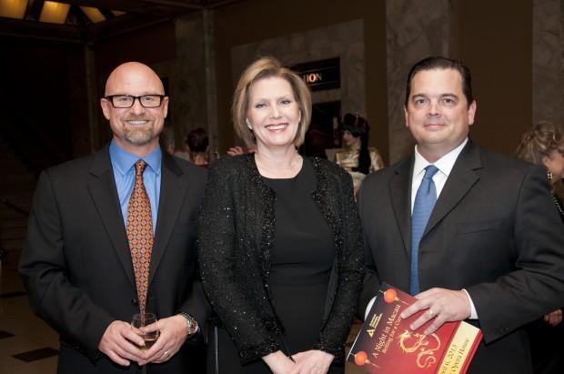 Dale Glover, Susan Dwars, Dr. Robert Hagan