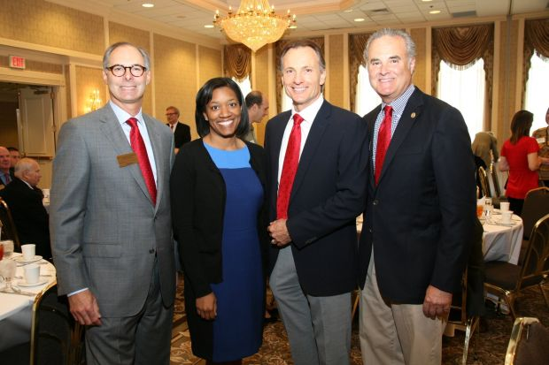 Ronald Chod, Bettina Drake, Tom Csengody, Dinner Chair Larry Levy