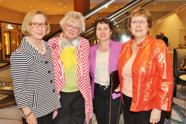 Christy Beckmann, Peggy Symes, Nina Needleman, Christine Brewer