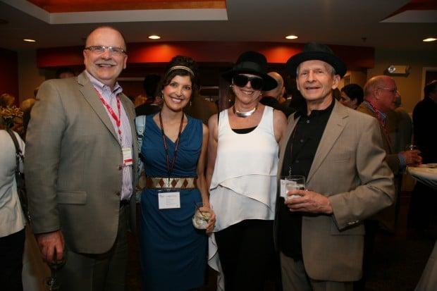 Chuck Gulas, Leigh Deusinger, Susie and Bob Deusinger