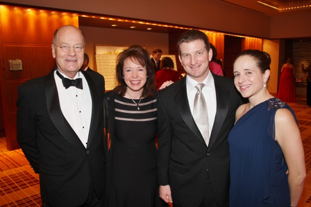 Stephen Clark, Nuviah Shirazi, Joe and Abilgail Goldberg