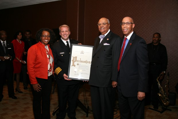 Vanessa Foster, Chief Sam Dotson, James Buford, Keith Williamson