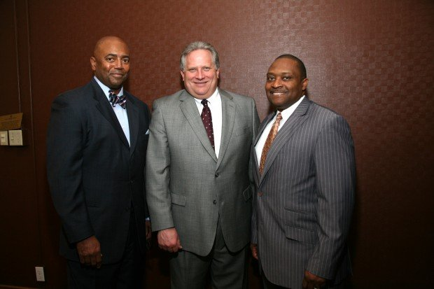 Marvin Franks, Stan Roux, Karl Jones