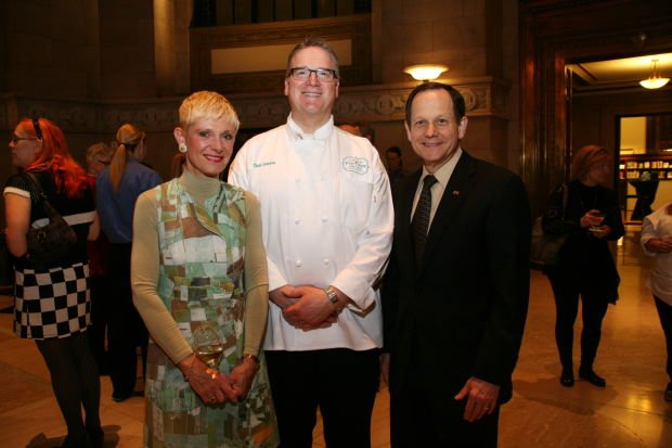 Crista Shatz, Chef Chris Desens, Mayor Francis Slay