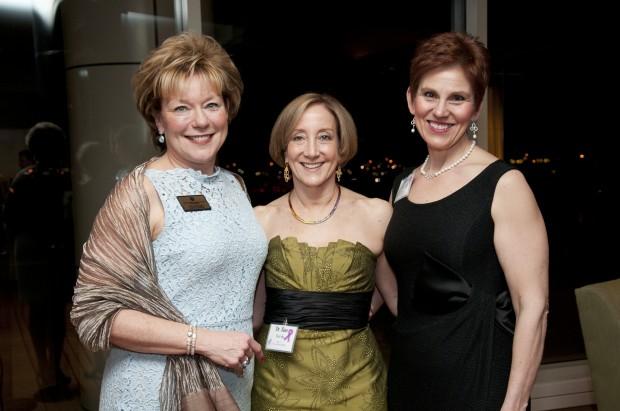 Joy Krieger, Dr. Sue Berdy, Jeanine Bermel