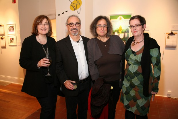 Susan and Carmon Colangelo, Jessica Stockholder, Marilu Knode