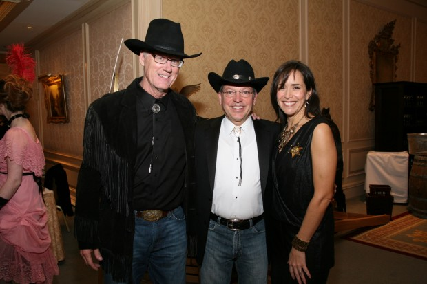 Don Uxa, Bill and Dina Jenkins