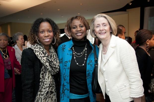 Ayanna Baldwin, Gilda Baldwin, Mary Heger