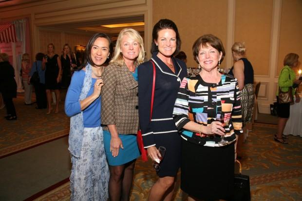 Liz Butler, Trish Zpon, Becky Hadfield, Susan Cox