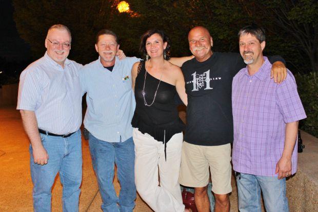 Brian Willis, Russell Rench, Ed Belling, Marion Berktold, Jack Semelsberger (Pickin' Lickin' Band)