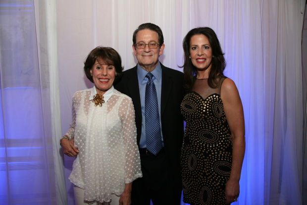 Marylen Mann, Dr. John DiPersio, Carolyn Collub