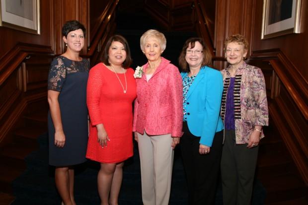 Andrea Griffith, Trish Muyco-Tobin, Karen Goodman, Mary Ann Wagner, Janice Denham