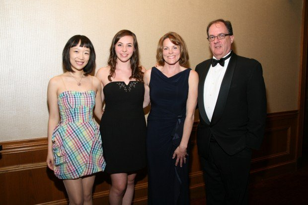 Anita Hong, Grace Villeneuve, Kim and James Walker