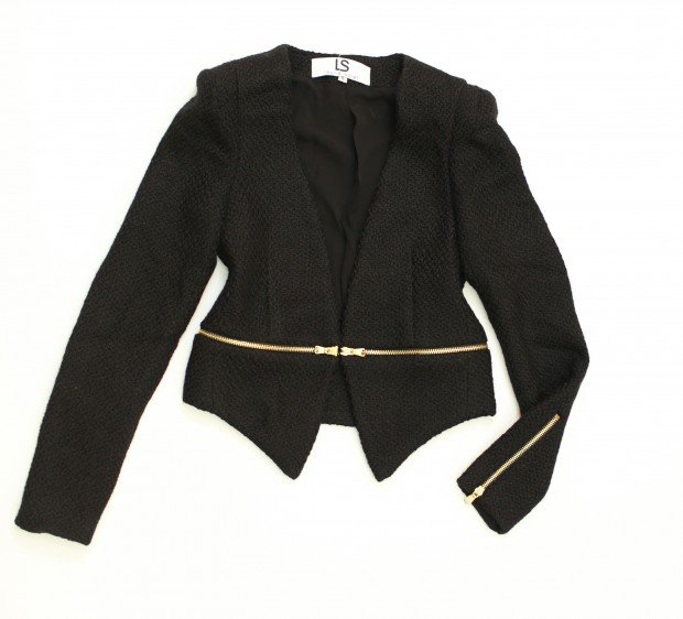 trend LS jacket, $96, Laurie Solet