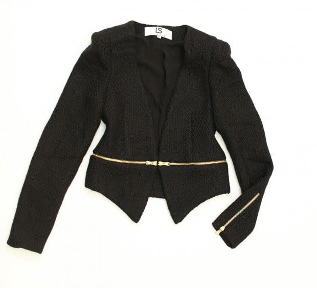 trend LS jacket, $96, Laurie Solet