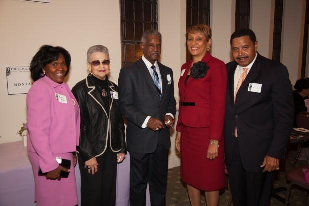 Pam Webb, Irene Graham, Wilbert Allen, Pat Jones, Dr. Don Neighbors
