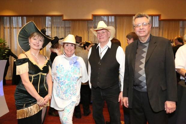 Terri Keller, Linda Straubinger, Steve Keller, David Buss