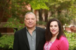 Steve Toedebusch and Gigi Lombrano