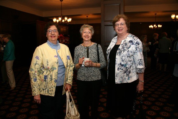 Emily Smith, Sylvia Parker, Pat Hutton