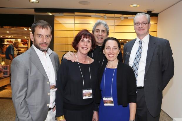 Jason Jacques, Anabeth and John Weil, Rochelle Steiner, David Conradsen
