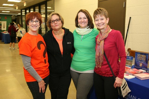 Missy Fish, Kris Hansford, Cathy Cooksey and Lynn Bozzay