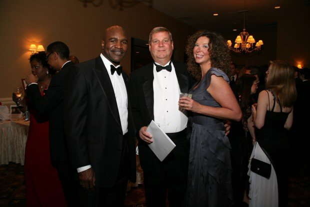 Evander Holyfield, Jeff and Megan Bross