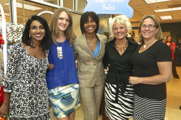Dr. Madhavi Kandula, Jessica Schleicher, Lisa Burgess, Tricia Stecher, Carol Butler
