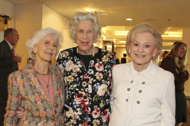 Jean Hobler, Pris McDonnell, Joan Quicksilver