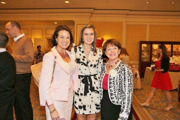 Becky and Lauren Hadfield, Susan Cox