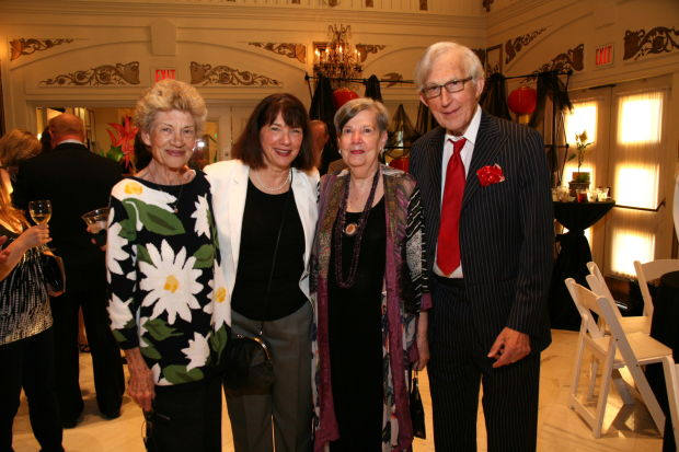 Barbara Aydt, Luanne Zwolak, Shaila and Don Pisoni
