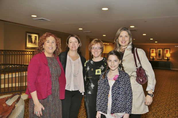 Ellen Futterman, Jill Rogers, Angela Kelly, Caroline and Jill Powell