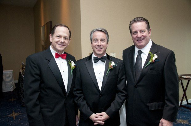 Mayor Francis Slay, Bert Vescolani, Johnny Londoff
