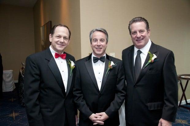 Mayor Francis Slay, Bert Vescolani, Johnny Londoff