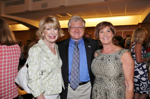 Barbara Bridgewater, Ron and Cheri Fromm